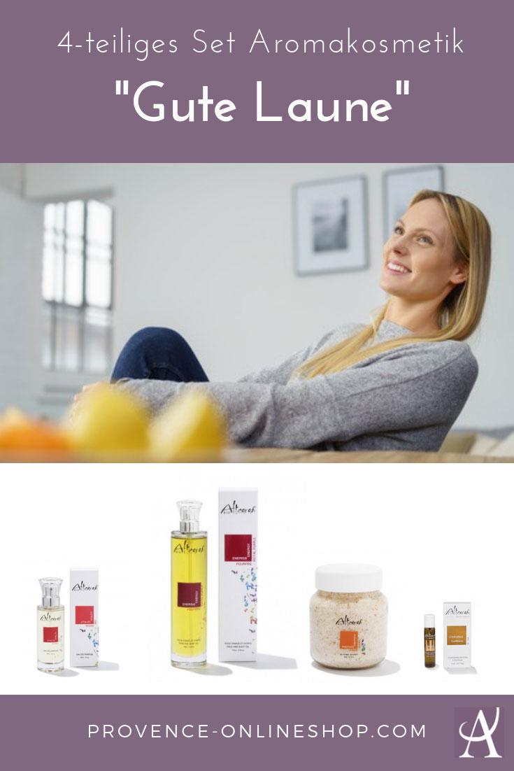 Aromatherapie - 4-tlg. Sparpaket: Gute Laune-Kur mit ätherischen Ölen