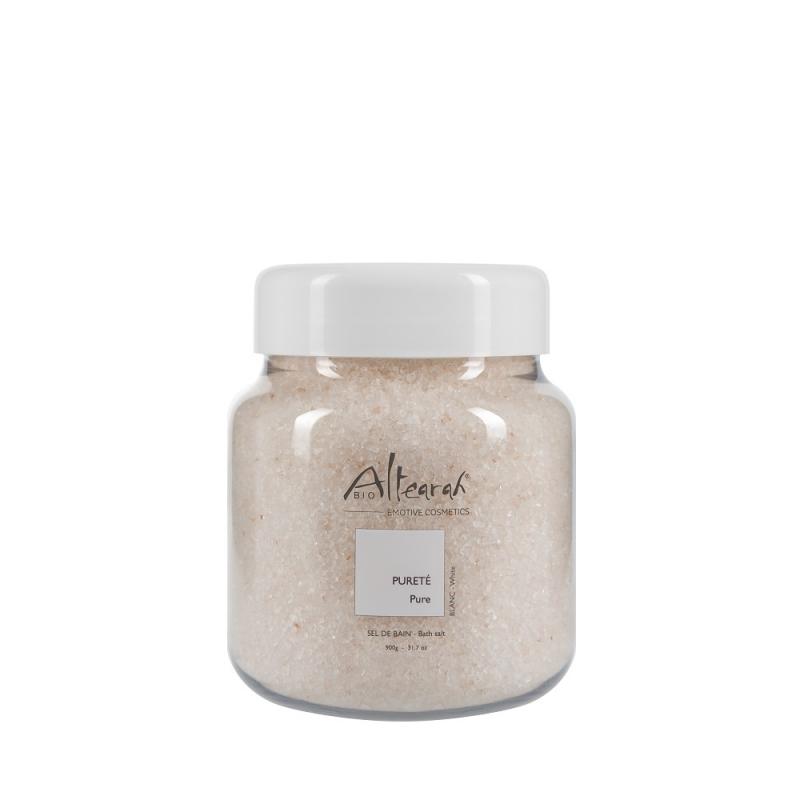 Aroma Badesalz Bio Weiß 900 g mit ätherischen Ölen