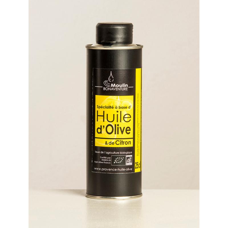 Olivenöl Provence Gewürzöl Zitrone Vierge Extra AOP
