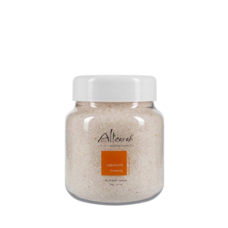 Aroma Badesalz Bio Orange ätherische Öle 900 g
