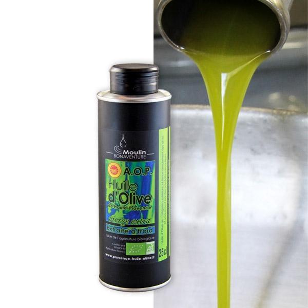 Olivenöl Provence 500 ml Bio Vierge extra AOP