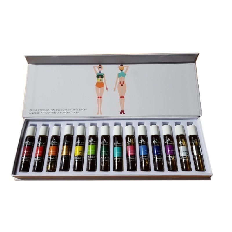 Box Parfum Roll on Serie 14 x 5 ml Altearah