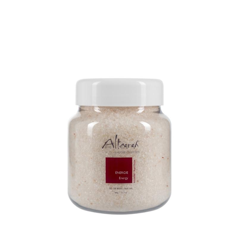 Aroma Badesalz Bio Purpur 900 g ätherische Öle