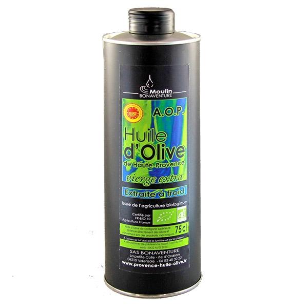 Olivenöl Provence 750 ml Bio Vierge extra AOP