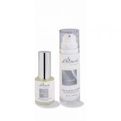Duo Synergie Gesichtcreme SUBLIME 30 ml mit Gesichtsserum Silber 15 ml