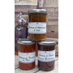 Genusspaket V - Chutney Aubergine Tomate Feige